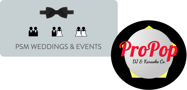 PSM Weddings & Events  Logo