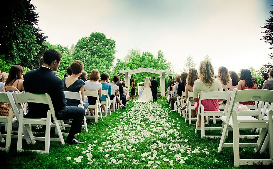 recessional outdoor ceremony minneapolis
